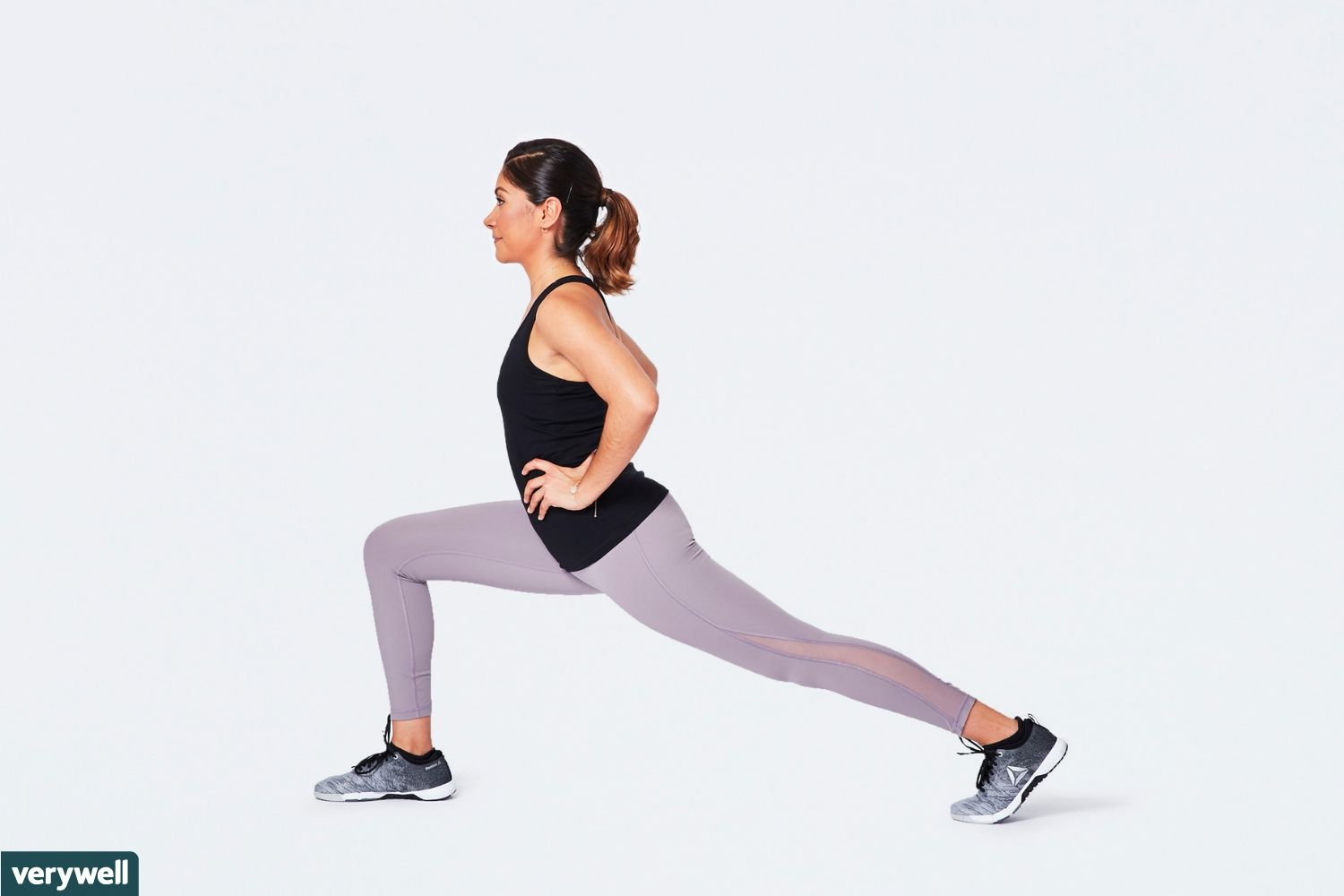 How to Do the Standing Lunge Stretch