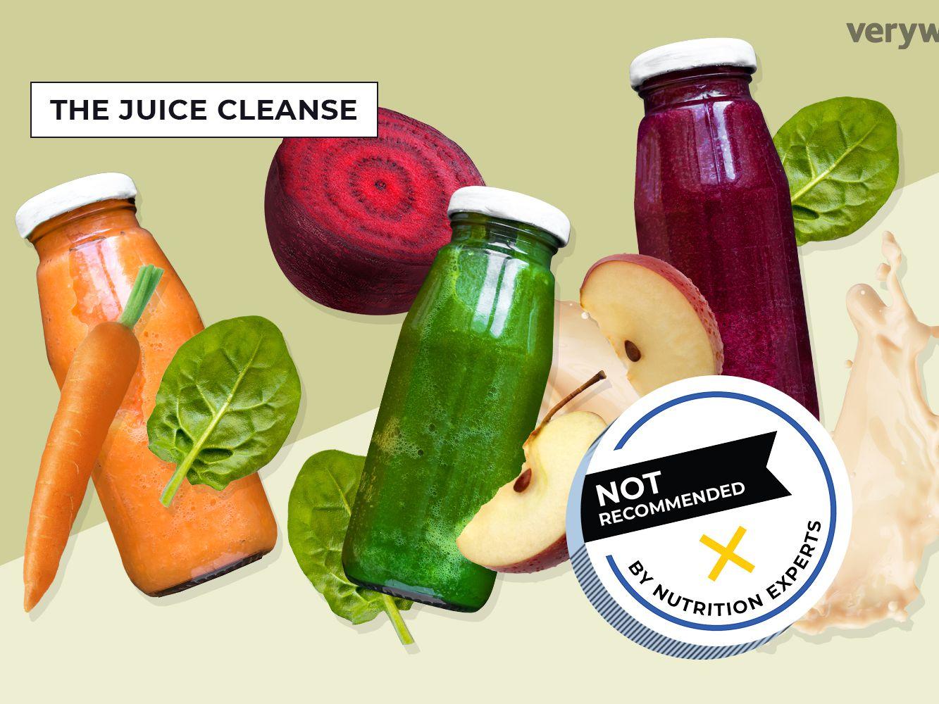 juice fast vs vegetable diet