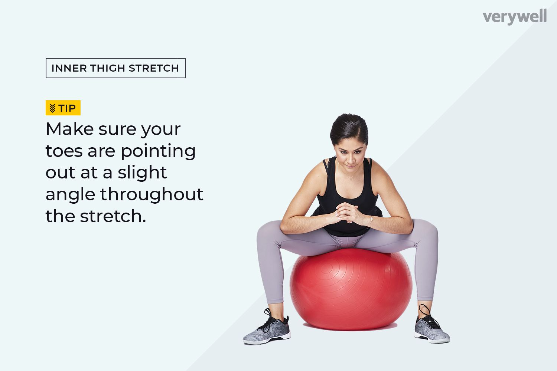 Streching ball Scrotum stretching
