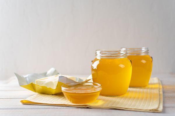 homemade ghee butter