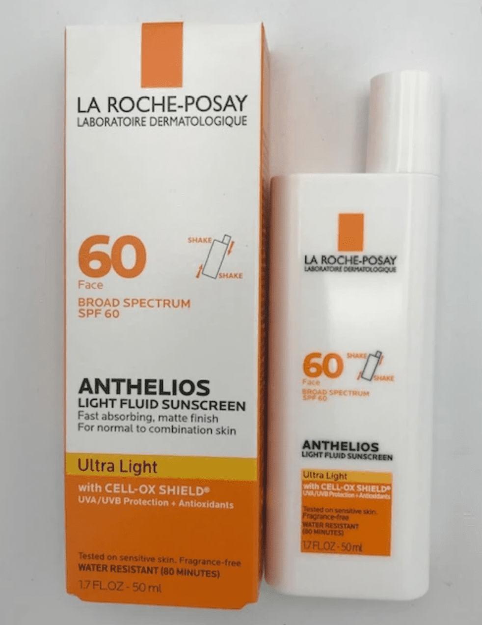 La Roche Posay Anthelios Ultra Light Face Sunscreen-SPF 60