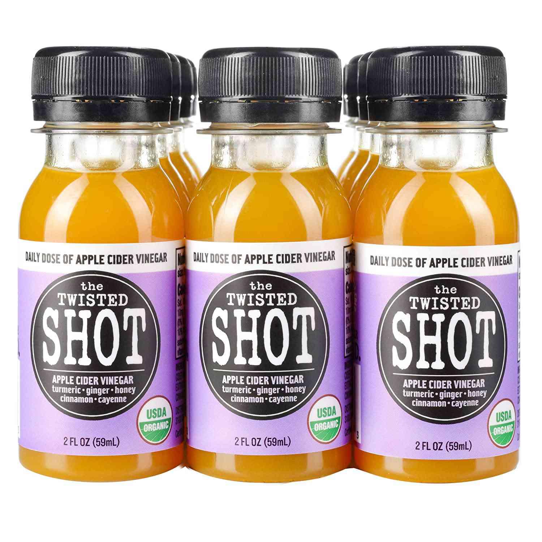 The Twisted Shot Organic Apple Cider Vinegar Shots