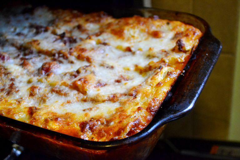 Noodle-free zucchini lasagna