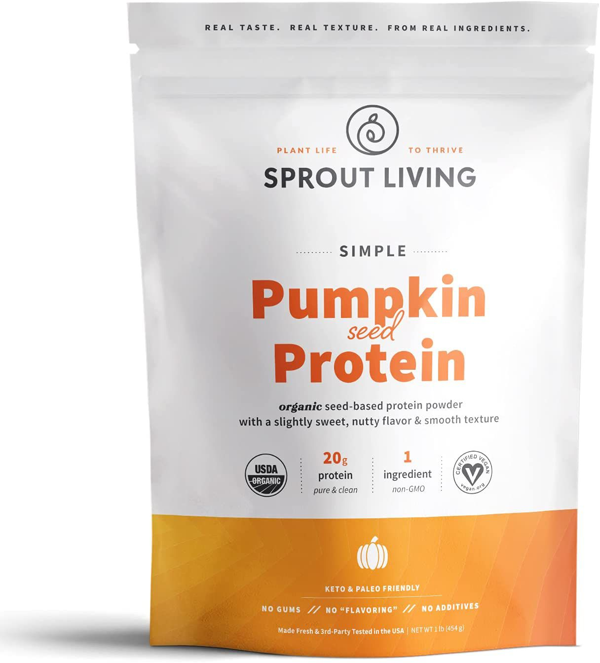 Sprout Living Pumpkin Seed Protein