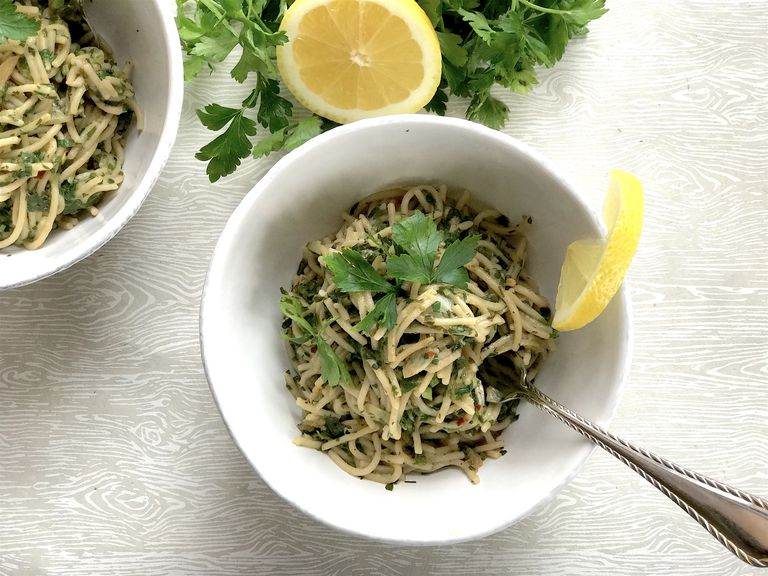 spinach pasta recipe