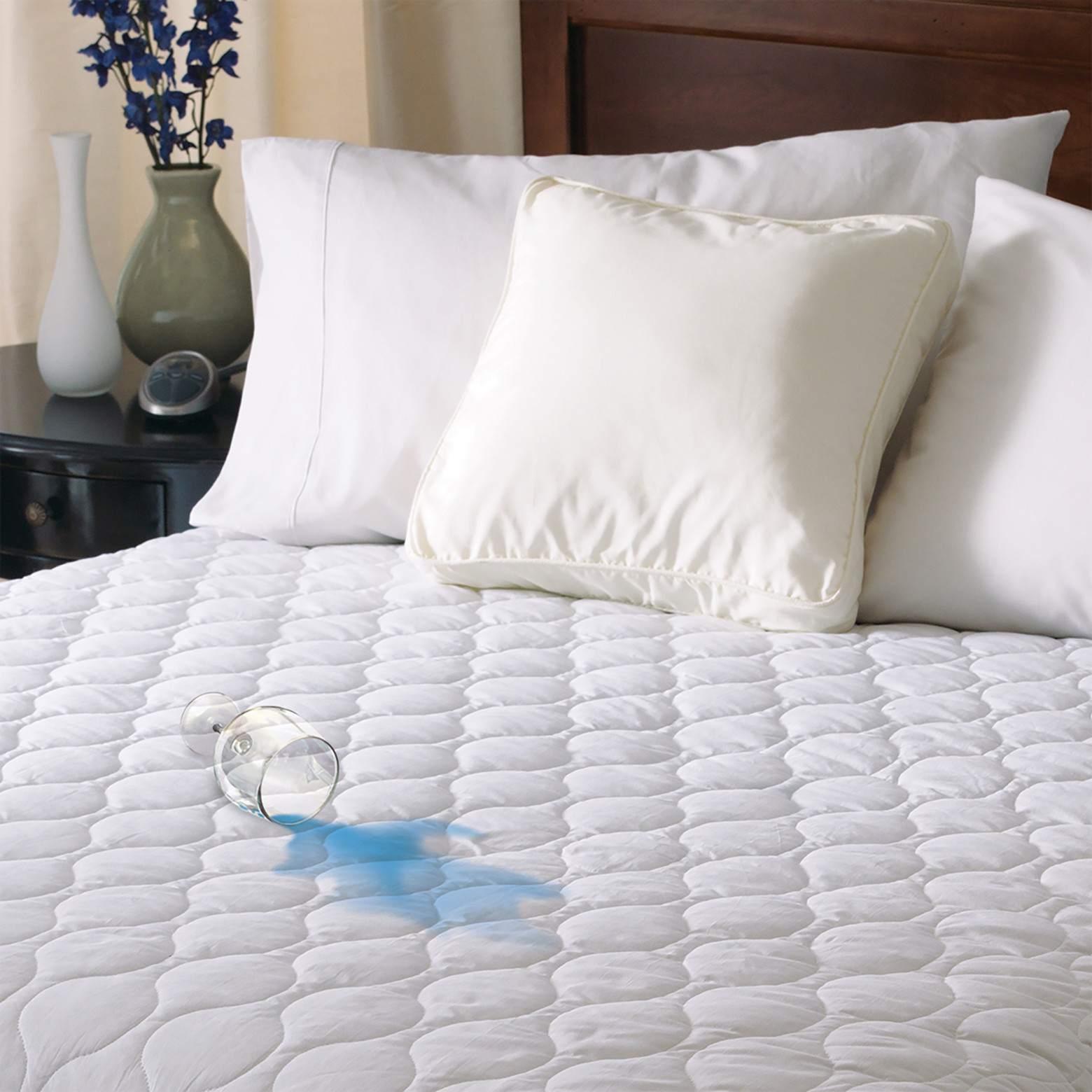 Cojín de colchón impermeable con calefacción - Sunbeam®