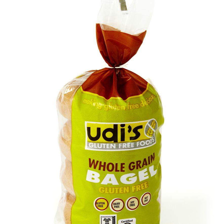 Udi's whole grain bagel