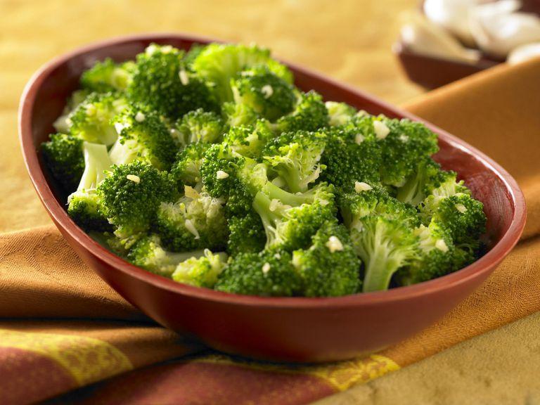 Garlic Seared Broccoli