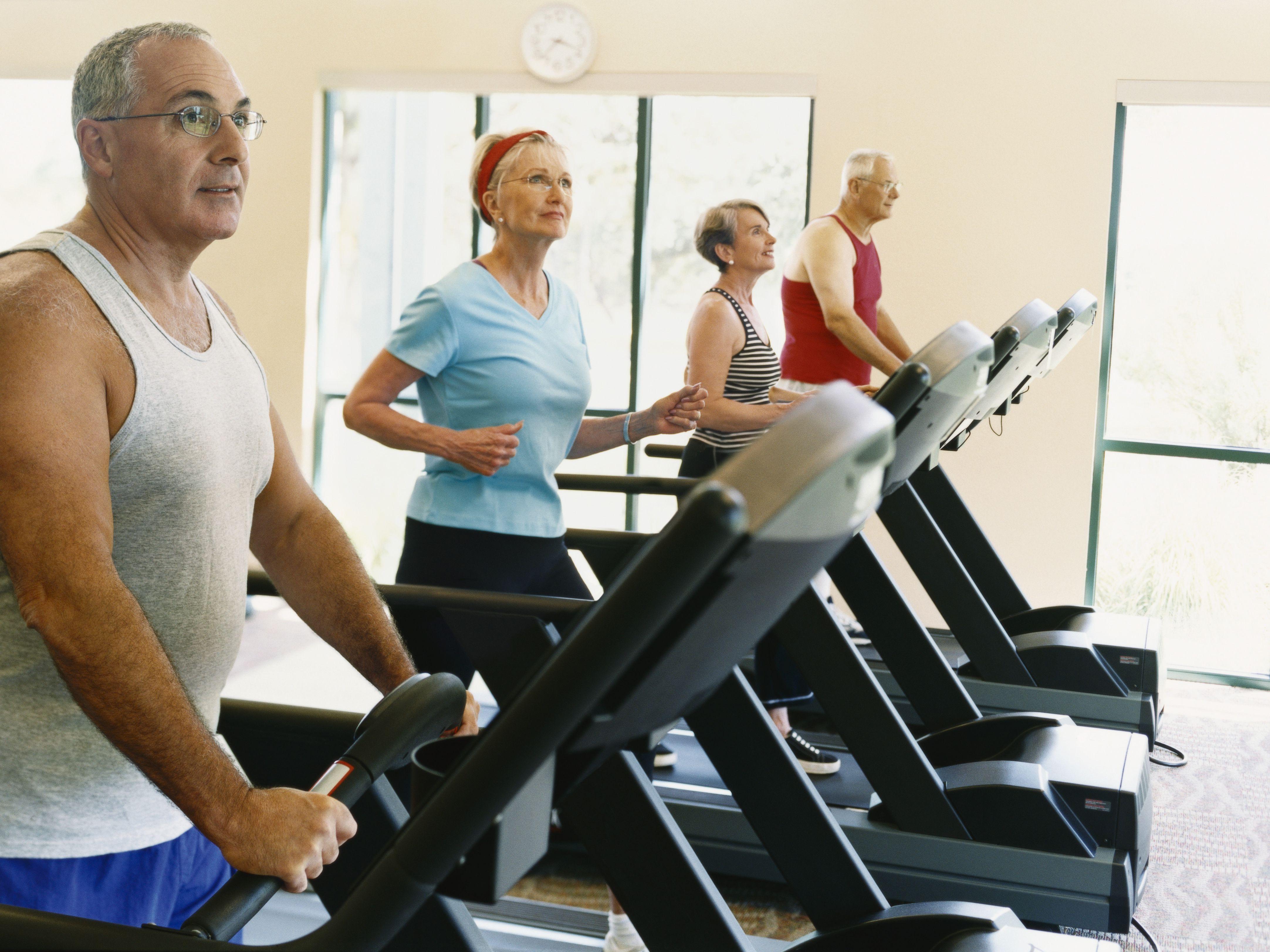 Treadmill Walking Workout Plan for Seniors