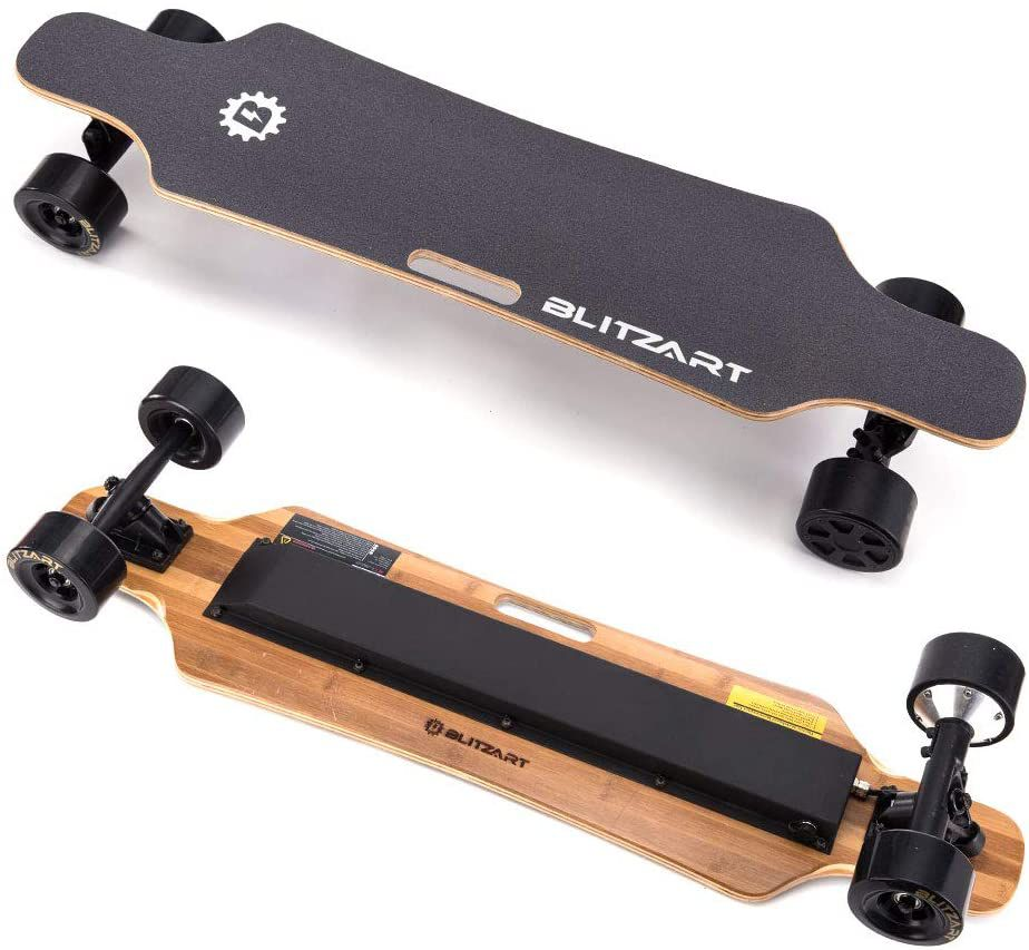 Blitzart Hurricane Electric Longboard