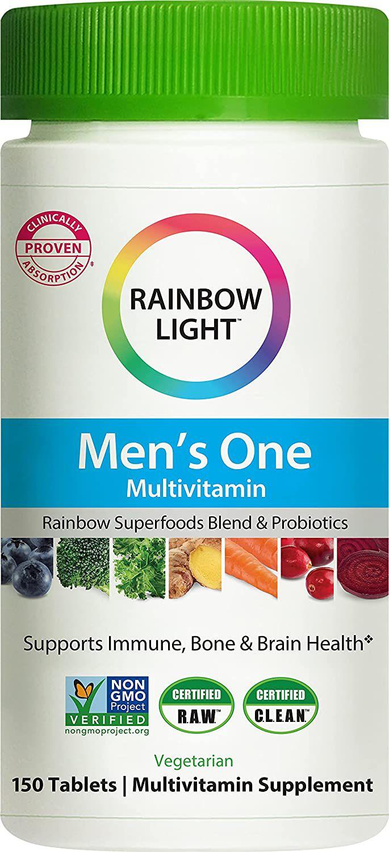 Rainbow Light Men's One Multivitamin Tablets