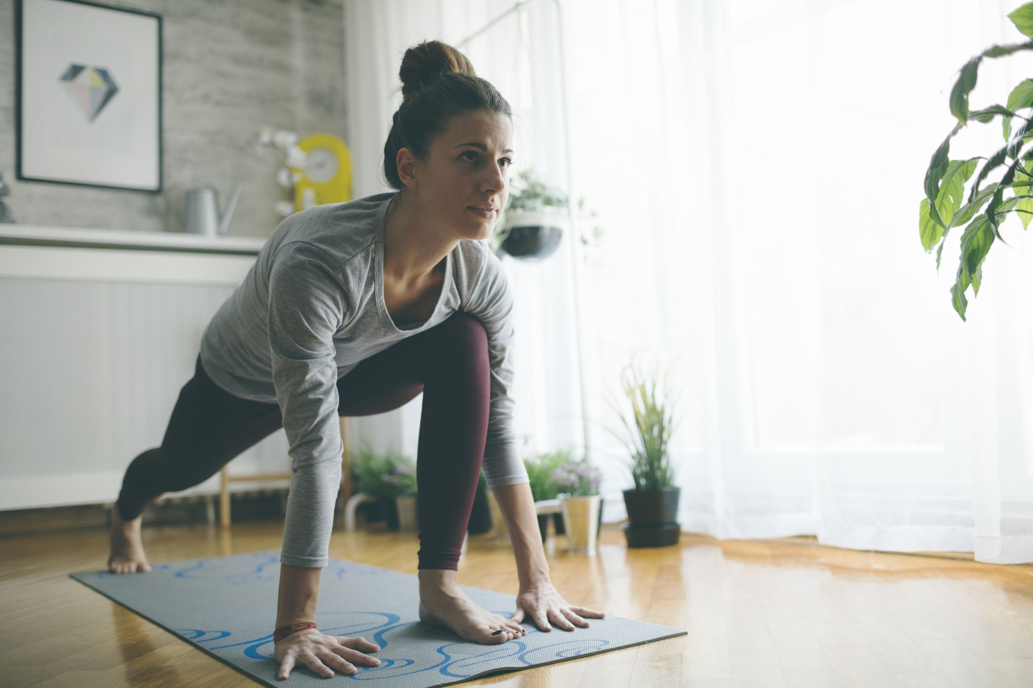 how often muscle pain yoga