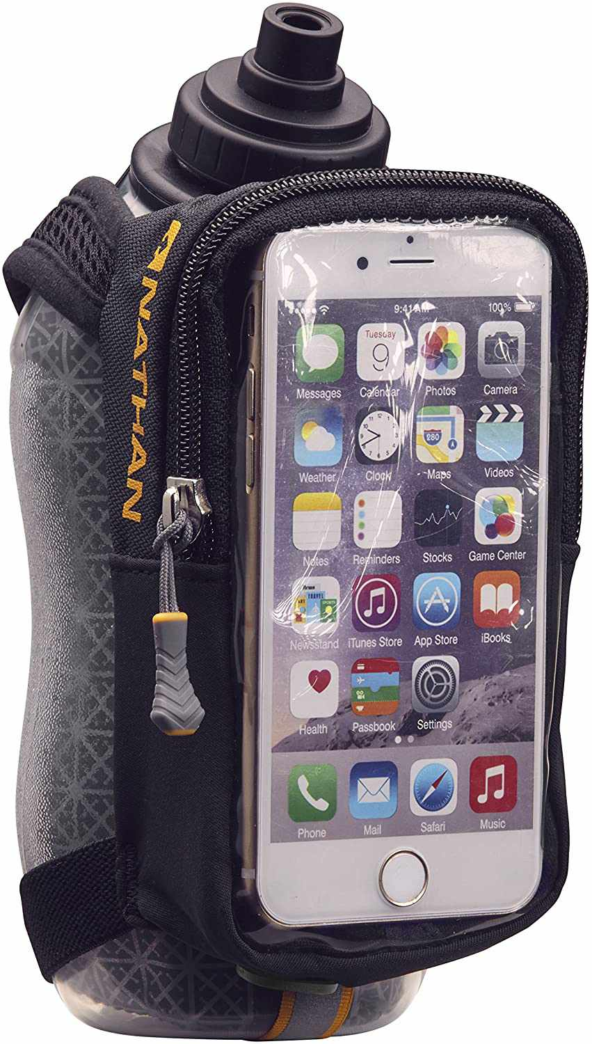 Nathan Speedview Plus Insulated Flask With Phone Case