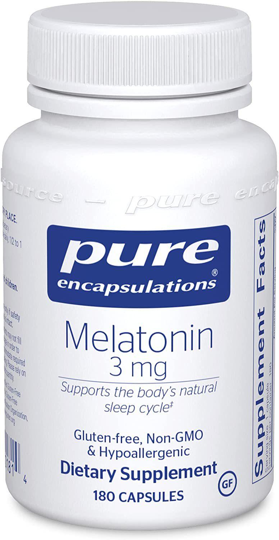 Pure Encapsulations Melatonin 3 mg