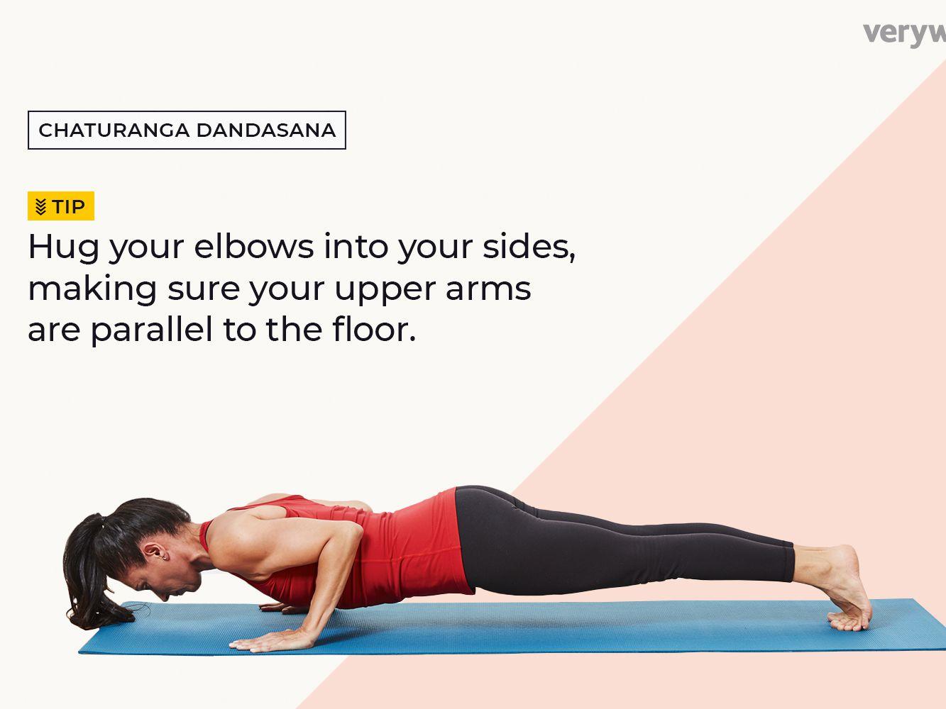 How To Do Low Plank Chaturanga Dandasana