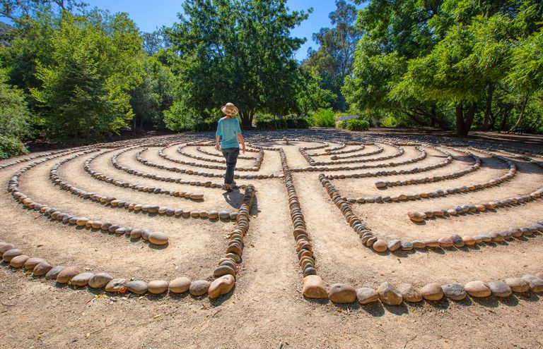 Walking A Labyrinth As A Spiritual Exercise