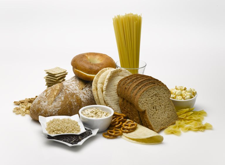 breads, pasta and pretzels