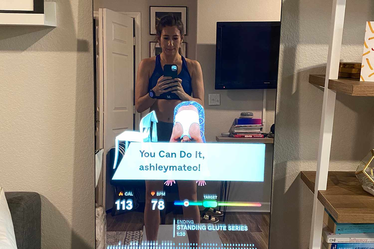 The Mirror At-Home Gym