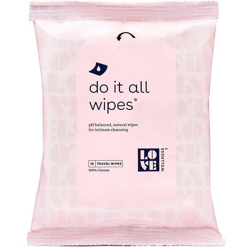 Love Wellness Mini Do It All Wipes