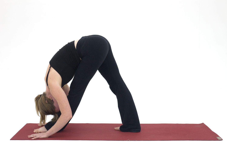 Yoga Poses for Hamstrings: Pyramid Pose - Parsvottonasana