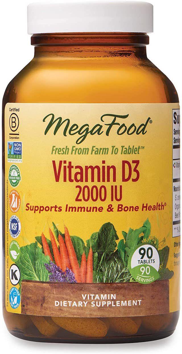 MegaFood Vitamin D3 Tablets