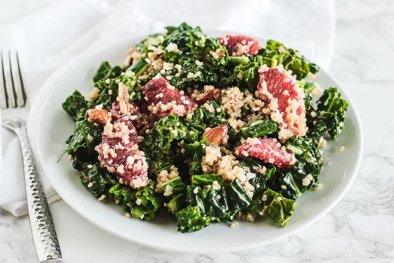 Blood Orange and Quinoa Kale Salad