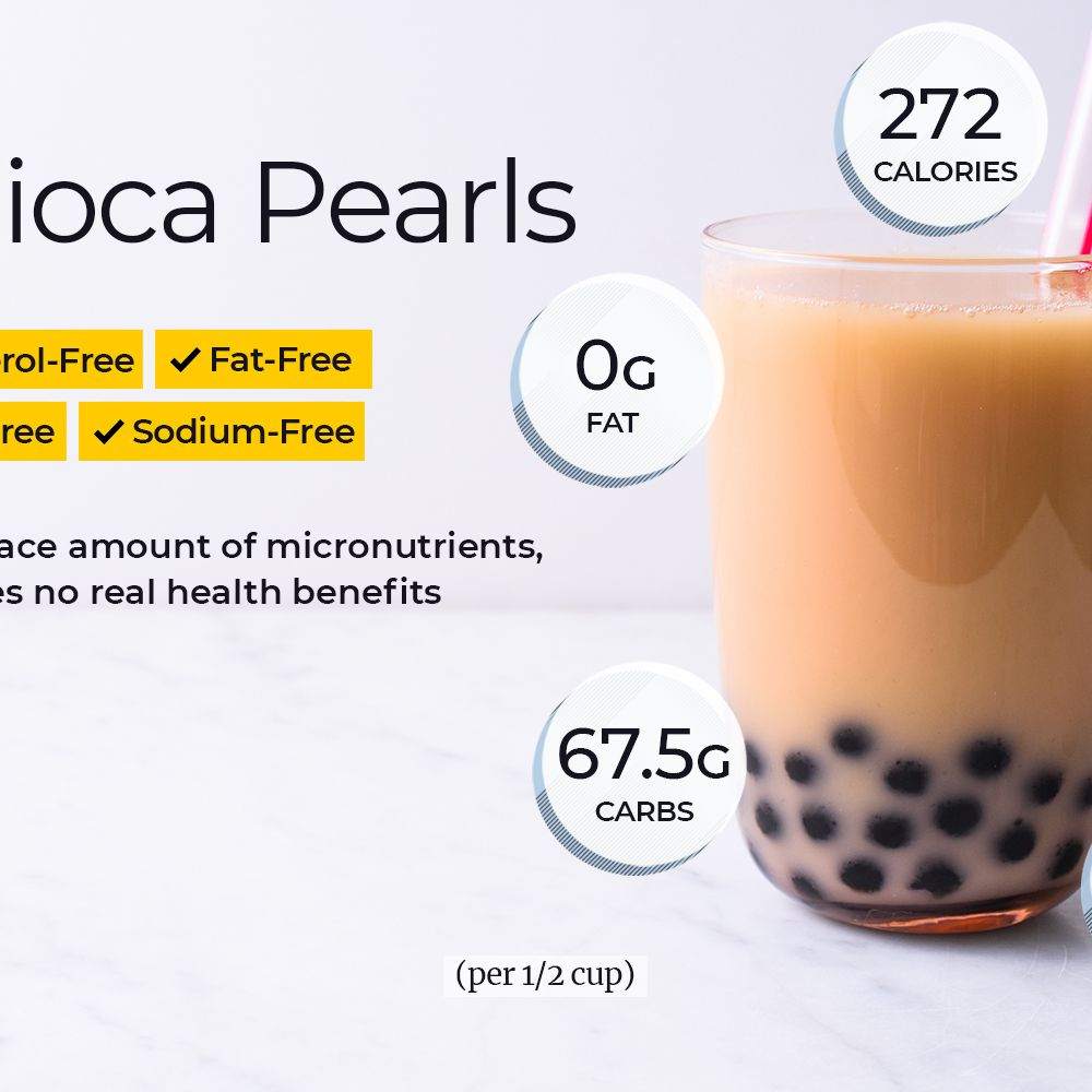 Boba Nutrition Facts: Calories, Carbs, and Health Benefits