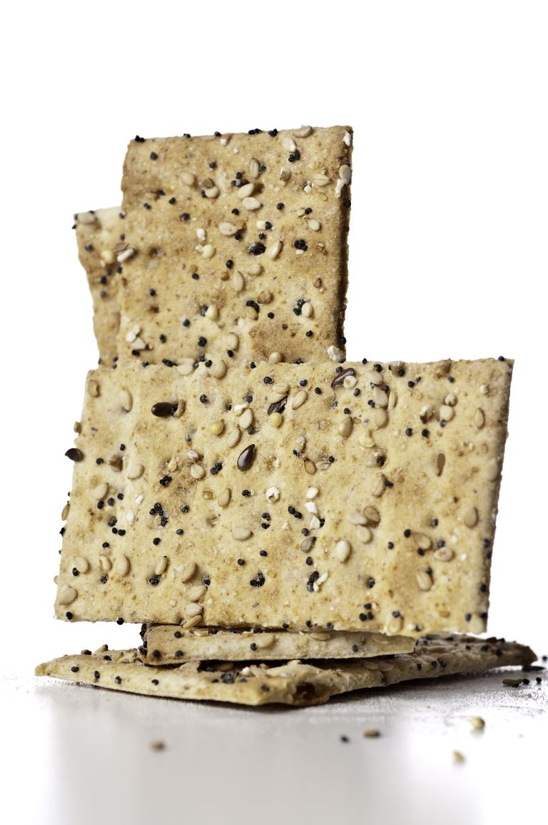 A Great Recipe for Gluten-Free Sesame Crackers