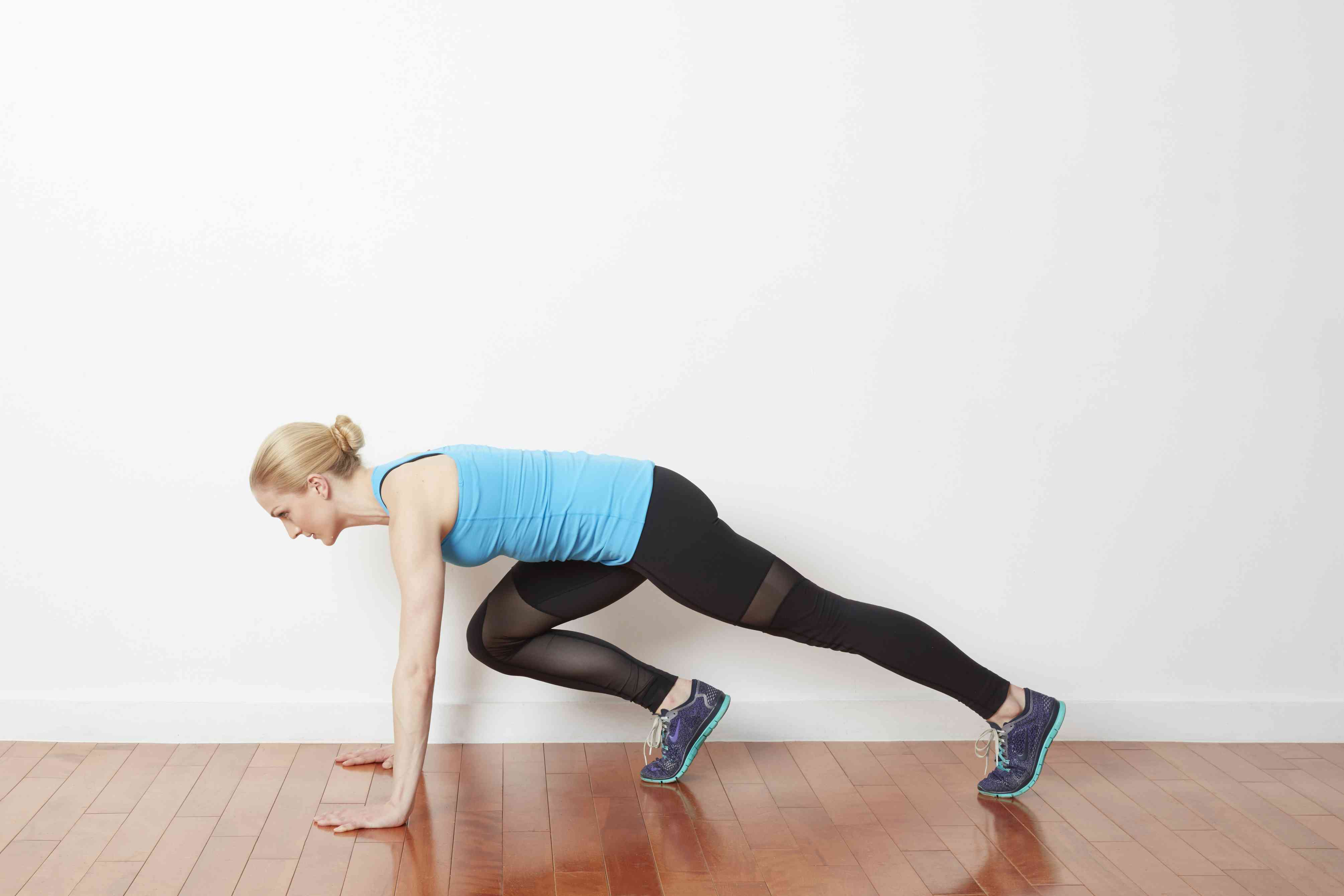 Upper body cardio circuit workout