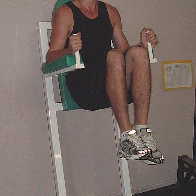 How To Do The Captain S Chair Hanging Leg Raise