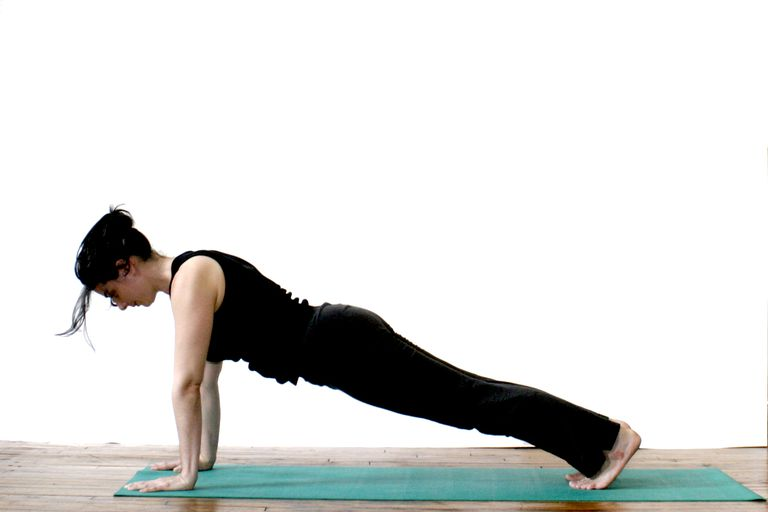 Advanced Version Back To Plank Pose