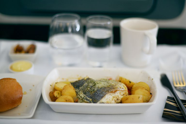 gluten-free airline meal